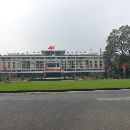 Der Staatspalast von Süd-Vietnam...