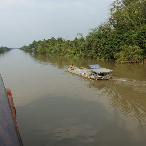 Auf dem Fluß