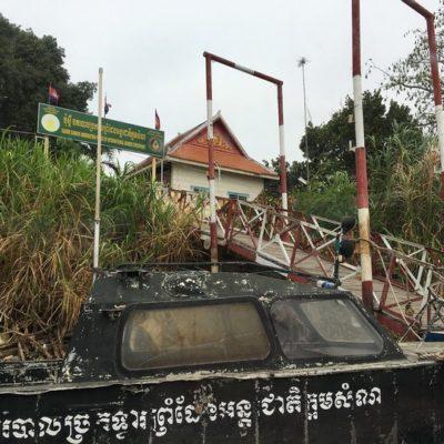 Grenzposten zu Kambodscha