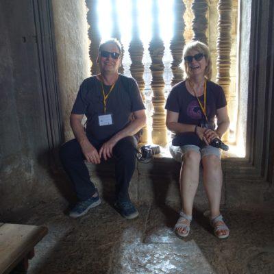 Geschaffte Touristen