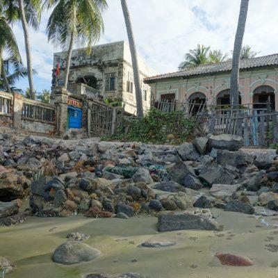 Kleine Villa am Strand