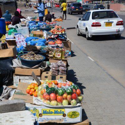 Markt am Strassenrand