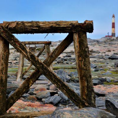 Da war mal 'ne Brücke drauf